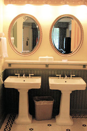 Master Bathroom with couple sinks