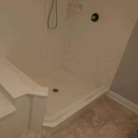 Tub Before