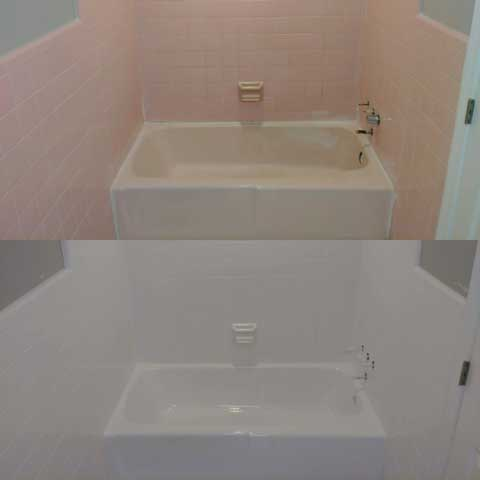 Tub Before & After